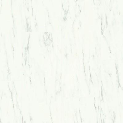 Foto van Quick-Step Ambient Glue Plus Carrara Marmer Wit AMGP40136