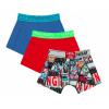 Afbeelding van Vingino 3-Pack jongens boxershort CLASSIC RED HS20KBN72501-625