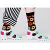 Afbeelding van Happy socks zwart met DONUTS print SDON01-9300