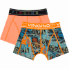 Afbeelding van Vingino 2-Pack jongens boxershort Street Light Army Green SS20KBN72506-201