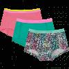 Afbeelding van Vingino 3-Pack meisjes boxershort Paradise New Ocean SS20KGN72603-121