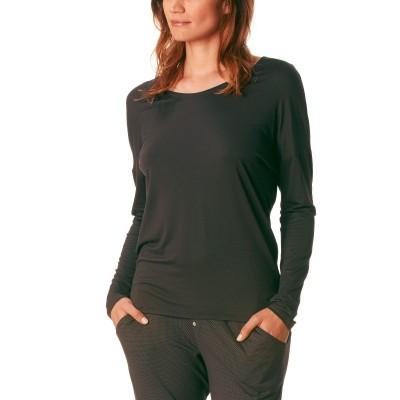 Foto van Mey Dames Loungewear Shirt NEW BLACK DIAMOND 16072