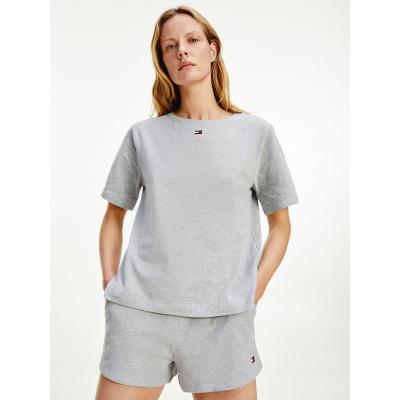 Foto van Tommy Hilfiger Dames lounge T-Shirt UW0UW01307-004 Grey