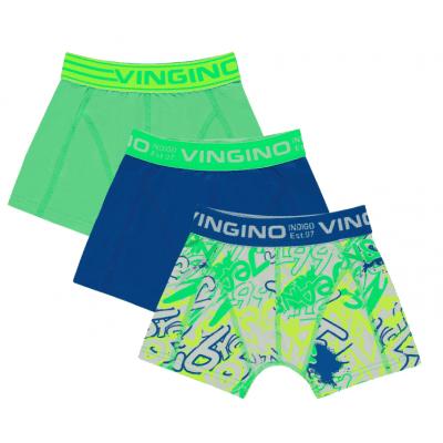 Foto van Vingino 3-Pack jongens boxershort GRAFITY AW19KBN72501 250