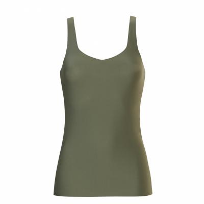 Foto van Ten Cate Secrets dames hemd met brede schouderbandjes ASH GREEN 31614 2261