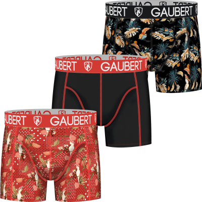 Foto van Gaubert heren boxer 3-pack COTTON SET 5