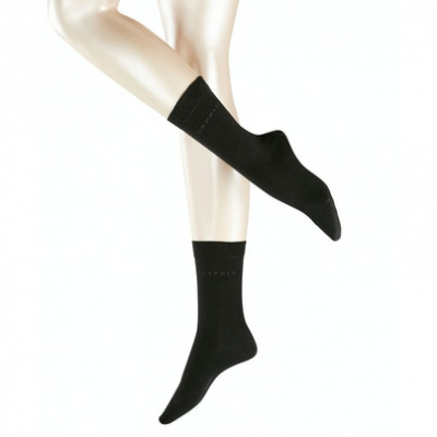Afbeelding van Esprit Sensitive dames sokken 2-Pack BLACK 18699 - 3000
