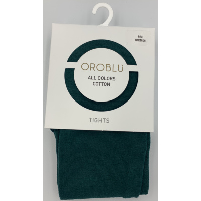 Foto van Oroblu All Colors katoenen panty VOBFC1LT0 16506 Green26