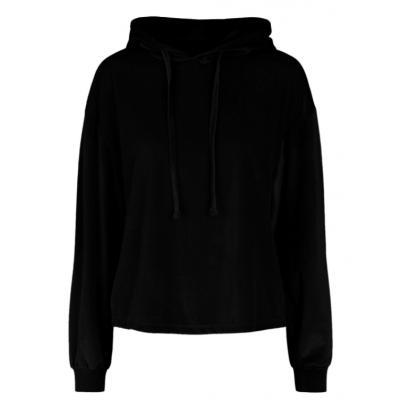 Foto van PIECES GIGI Lounge hoodie BLACK velvet 17117379