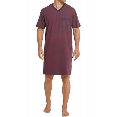 Foto van Schiesser Heren nachthemd korte mouw RED 161101 500