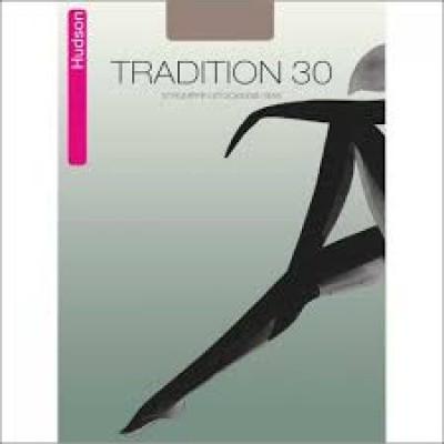 Foto van Hudson Tradition 30 denier Jarretel kous PERLE 0057