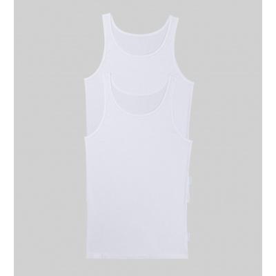Foto van Sloggi Men 24/7 SH02 Vest 2-Pack heren hemd WHITE 10163154