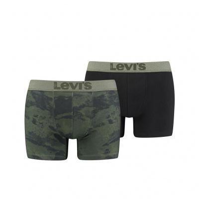 Foto van Levi's 2-Pack Boxer KHAKI 100001652 001