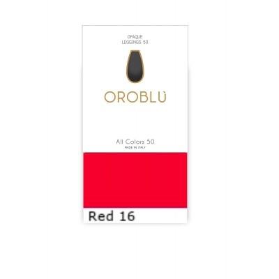 Foto van Oroblu All Colors 50 Legging RED 16 OR1165050