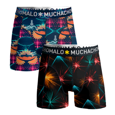 Foto van Muchachomalo katoenen heren boxer short print EDM Music EDM1010-04
