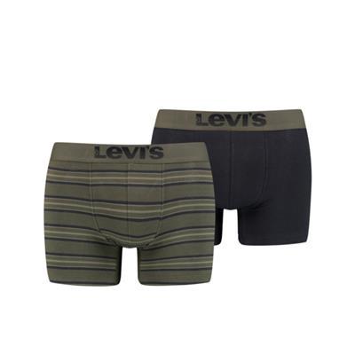 Foto van Levi's 2-Pack Boxer Khaki 701203907 020