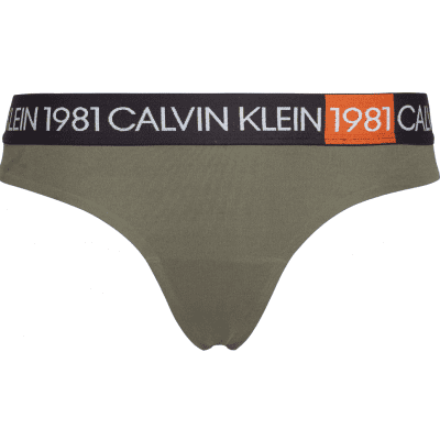 Foto van Calvin Klein damesstring 1981 Bold COTTON Collection 000QF5448E-7GV