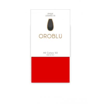 Foto van Oroblu All Colors 50 Panty Legging RED 19 OR1165050