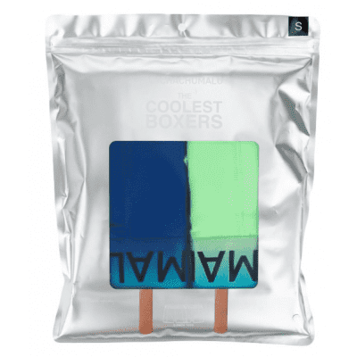 17962bd4f70 Muchachomalo Boxer 2-Pack COOLEST BOXERS Groen/Blauw LOLLY1010-01