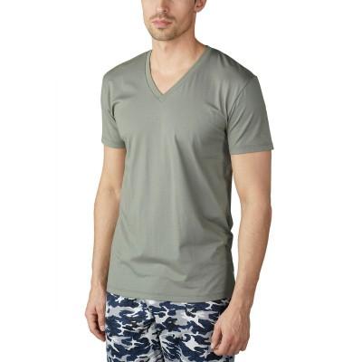 Foto van Mey Club heren T-Shirt met korte mouw Mineral Green 46507