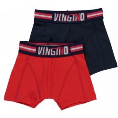 Afbeelding van Vingino 2-Pack jongens boxershort IBIZA DARK BLUE HS19KBN72604 100