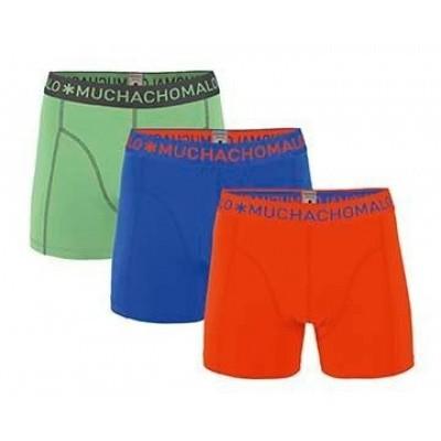 Foto van Muchachomalo 3-Pack jongens boxers 1010JSOLID229