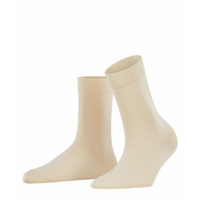 Foto van Falke Cotton Touch Sock CREAM 47673 4019
