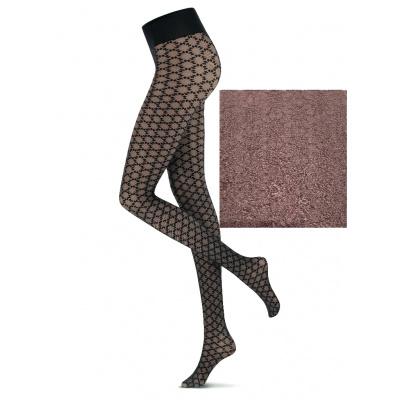 Foto van Oroblu Fashion Panty Stellar VOBC66661 38518 Brown