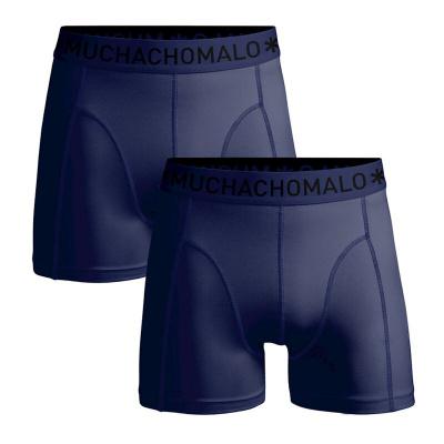 Foto van Muchachomalo micofiber heren boxer short Blauw 2-Pack MICROFIBER1010 - 06