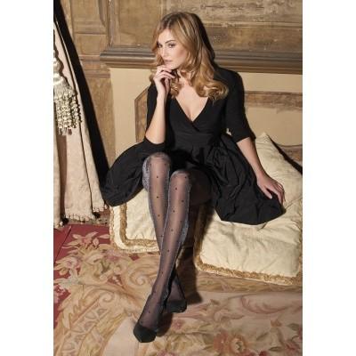 Foto van Trasparenze Fashion Tight DIOS BLACK/SILVER