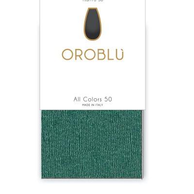 Foto van Oroblu All Colors 50 Panty GREEN 25 OR 1145050