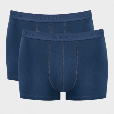 Foto van Sloggi 24/7 heren boxershort 2-Pack Blauw 10163133