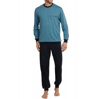Foto van Schiesser Heren pyjama / loungewear set NAVY 161112-817