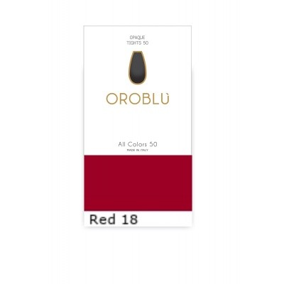 Foto van Oroblu All Colors 50 Panty RED 18 OR1145050