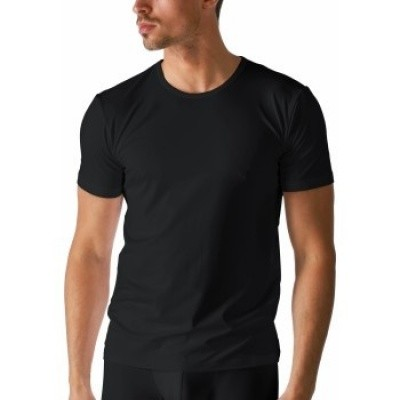 Foto van Mey Dry Cotton Heren T-Shirt Ronde hals BLACK 46002