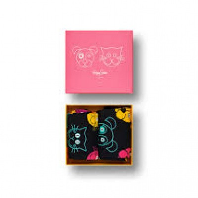 Foto van Happy Socks Gift Box CAT VS DOG GIFT XDOG02-9300