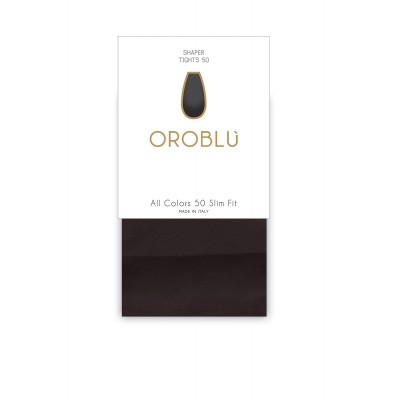 Foto van Oroblu All Colors Slim fit 50 BLACK OR1145060