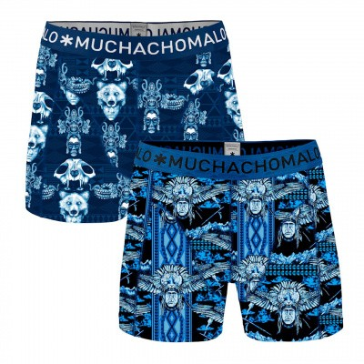 Foto van Muchachomalo heren boxer short 2-Pack TRANC1010-04