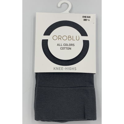 Foto van Oroblu All Colors katoenen Kniekous VOBFC1LTK0 19686 Grey14
