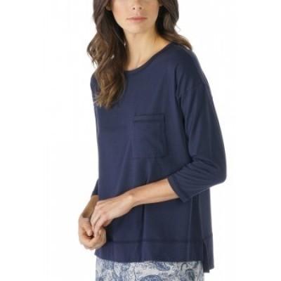 Foto van Mey Dames Night2Day T-Shirt NIGHT BLUE 16806
