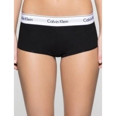 Foto van Calvin Klein Modern Cotton damesboxer BLACK 0000F3788E NOS