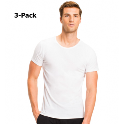 Foto van Tommy Hilfige Premium Essentials 3-pack heren T-Shirts WHITE 2S87905187 - 100