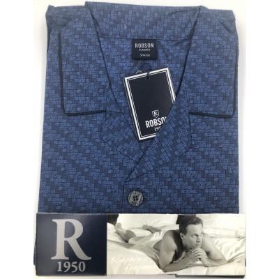 Foto van Robson Katoenen heren doorknoop Pyjama 2781 700