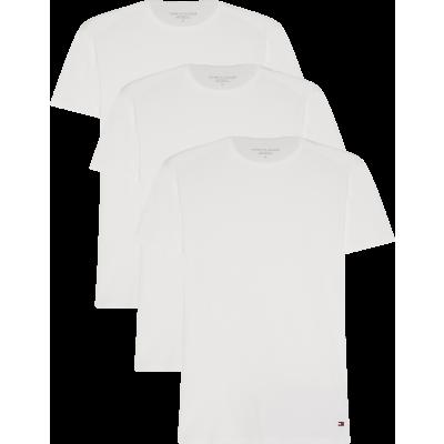 Foto van Tommy Hilfige Premium Essentials 3-pack heren T-Shirts WHITE 2S87905187 - 100