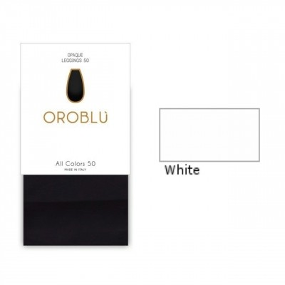 Foto van Oroblu All Colors 50 Legging White OR1165050