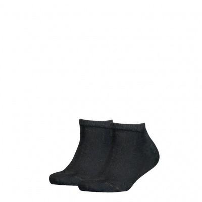 Foto van Tommy Hilfiger kinder sneaker sokken 2-pack BLACK 301390 201