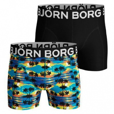 Foto van Bjorn Borg 2-Pack Heren boxer short SUNSET 1921-1153 70391