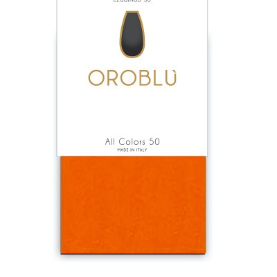 Foto van Oroblu All Colors 50 panty legging ORANGE 15 OR1165050
