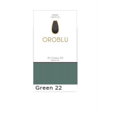 Foto van Oroblu All Colors 50 Panty GREEN 22 OR1145050