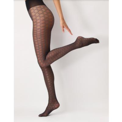 Foto van Oroblu Fashion Panty Stellar VOBC66661 9925 Black melange